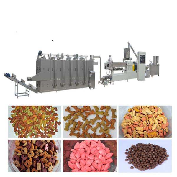 Automatic Extruded Pet Pellet Machine Line Dry Dog Food Maker