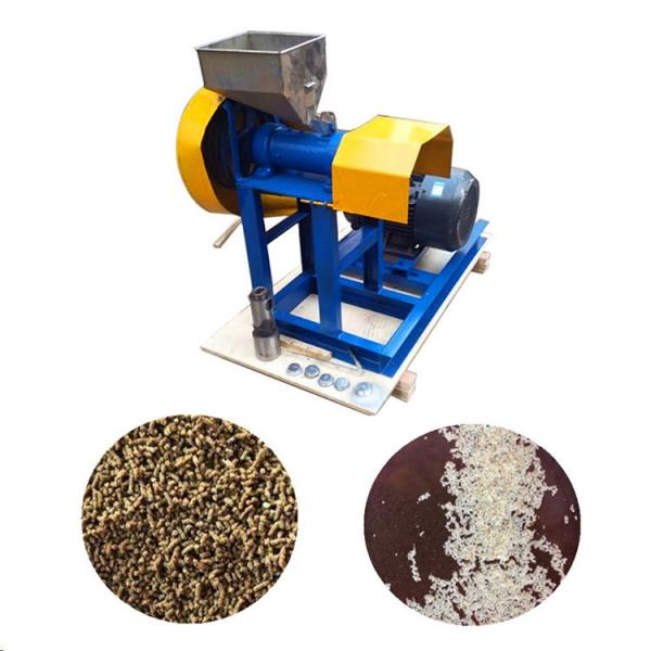 Automatic Dry Type Floating Fish Feed Pellet Machine Price